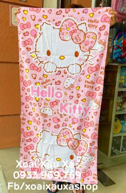 [Xoài Xấu Xa Shop] khăn tắm hình mèo hello kitty đẹp xinh xắn