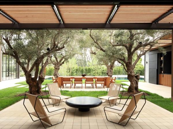 Xu hướng thiết kế Patio trong kiến trúc đương đại