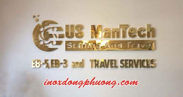 Xưởng gia công chữ inox chất lượng và giá rẻ nhất tại Hà Nội