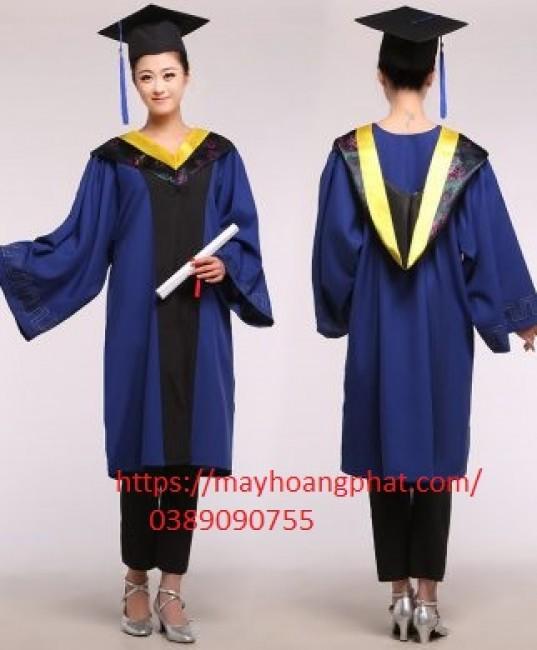 xưởng may áo gió- lễ phục tốt nghiệp Điện Biên