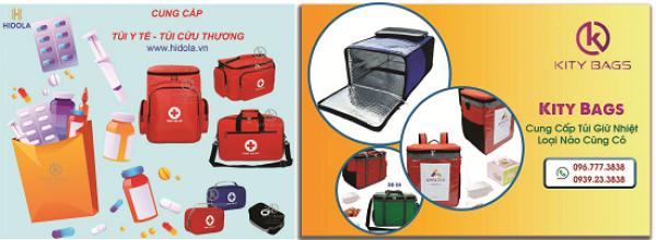 Xưởng may túi giữ nhiệt, túi y tế, túi giao hàng..đa dạng mẫu và kích thước. Uy tín chất lượng