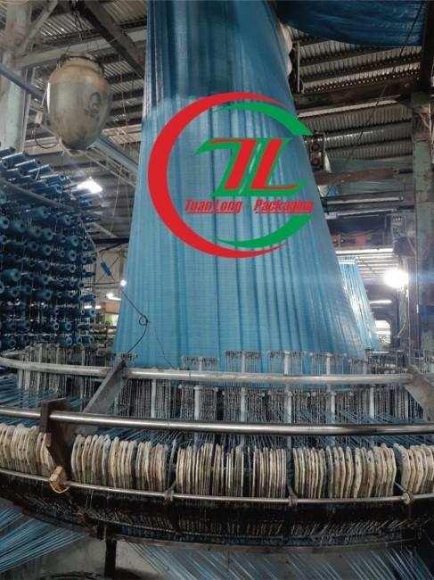 Xưởng sản xuất bao tải dứa khổ lớn, bao pp dệt kích thước lớn - Tuấn Long