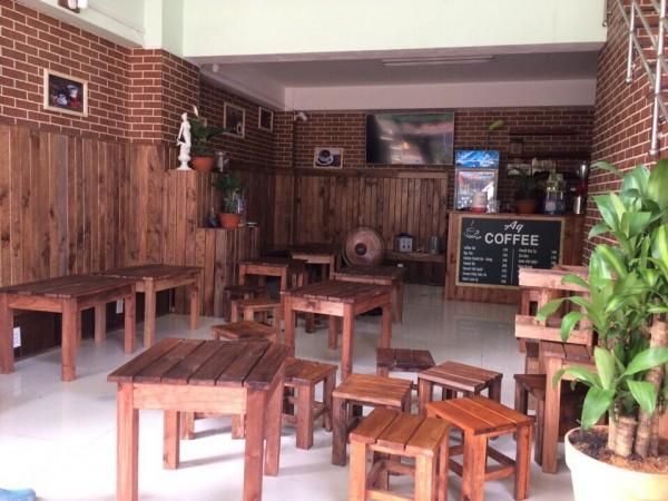 Xưởng sản xuất nội thất quán cafe - Xưởng đồ gỗ giá rẻ Minh Hiếu
