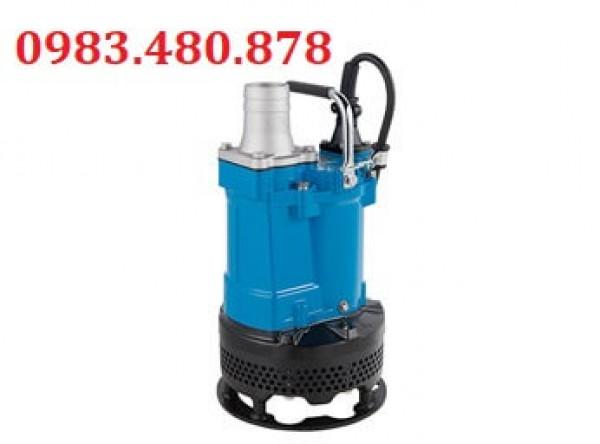 (Zalo/call)0983.480.878 Bơm chìm hút nước thải công nghiệp, nước thải thi công Tsurumi KTV3-55
