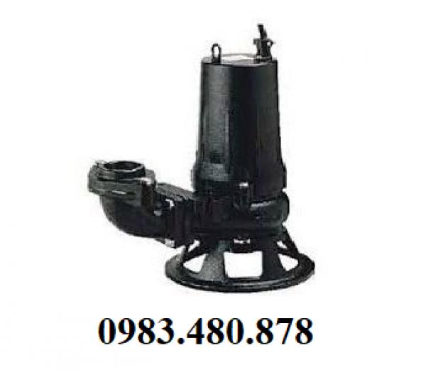(Zalo/Call)0983.480.878 Cung cấp máy bơm chìm nước thải cánh cắt rác Tsurumi 80C25.5-CR
