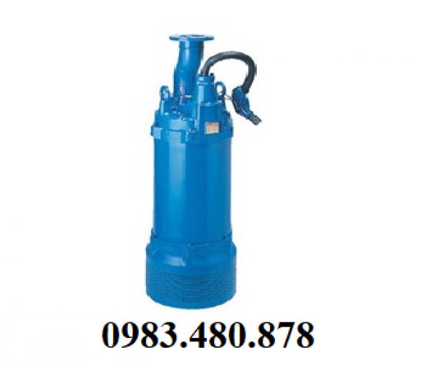(Zalo/call) 0983.480.878 Cung cấp máy bơm chìm nước thải xây dưng, hố móng Tsurumi LH855