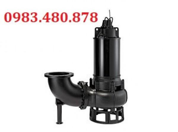 (Zalo/call)0983.480.878 Máy bơm chìm hút nước thải Tsurumi, máy bơm bùn tuần hoàn 150B415
