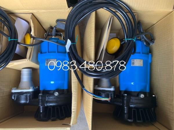 (Zalo/call) 0983.480.878 Máy bơm chìm nước thải gia đình, máy bơm Tsurumi 1pha 220V HSZ3.75S