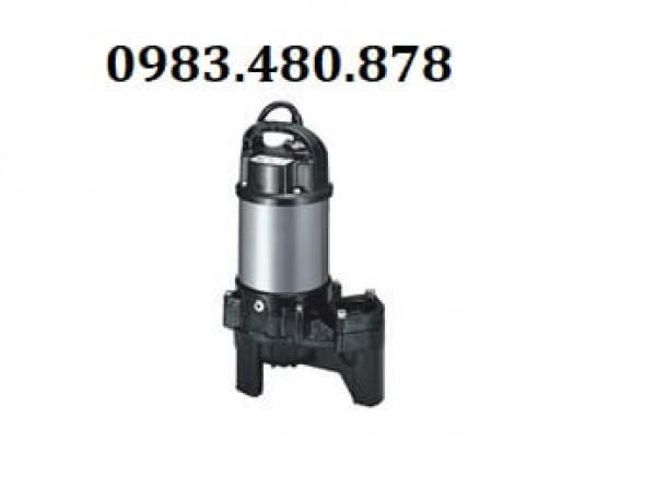 (Zalo/call)0983.480.878 Máy bơm chìm nước thải Tsurumi 80PU22.2, máy bơm chìm thân Inox