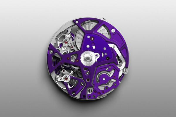 Zenith defy 21 ultraviolet - thiết kế táo bạo với ánh cực tím huyền ảo