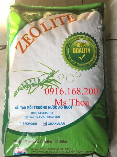 ZEOLITE - Lắng tụ phù sa và các chất lơ lửng trong ao nuôi